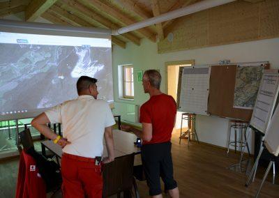 Bergrettung übt Großalarm in Schottwien und in Pernitz 3