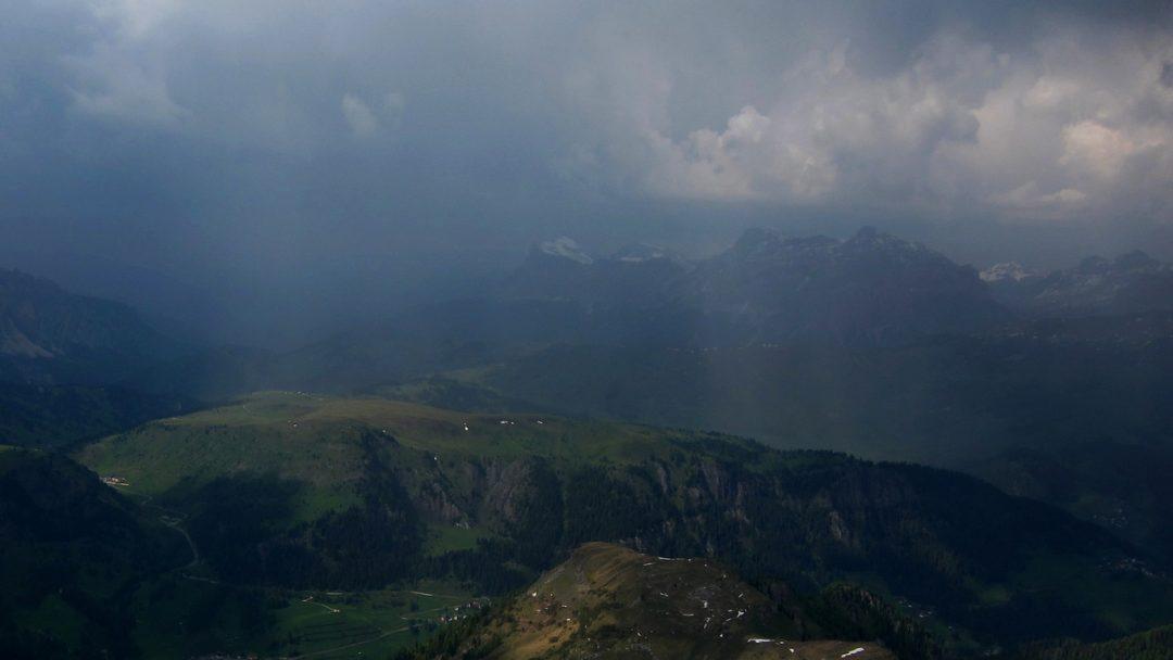 Verhalten bei Gewitter am Berg 1