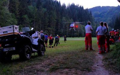 Einsatzserie für die Bergrettung Lackenhof