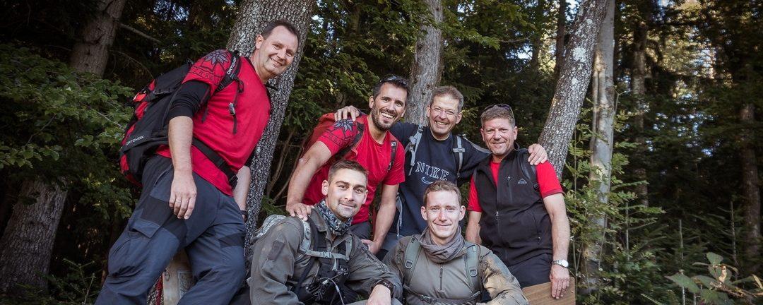 Bergrettung setzt auf Teamwork