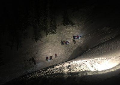 Großeinsatz für Bergrettung nach Lawine auf der Rax 3