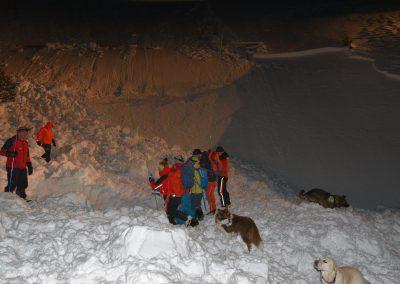 Großeinsatz für Bergrettung nach Lawine auf der Rax 5
