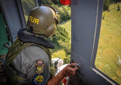 Einsatzübung mit Heer, Höhlenrettung und Feuerwehr 14