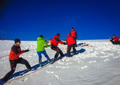 Winterübung am Göller - Hohenberg & St. Aegyd 26
