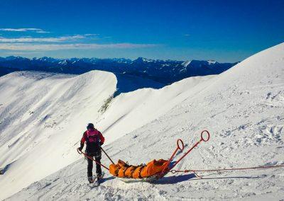 Winterübung am Göller - Hohenberg & St. Aegyd 30