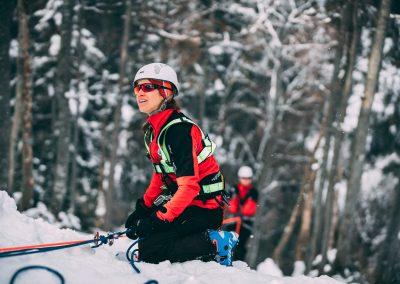 Winterkurs: 35 neue BergretterInnen für NÖ/W 9