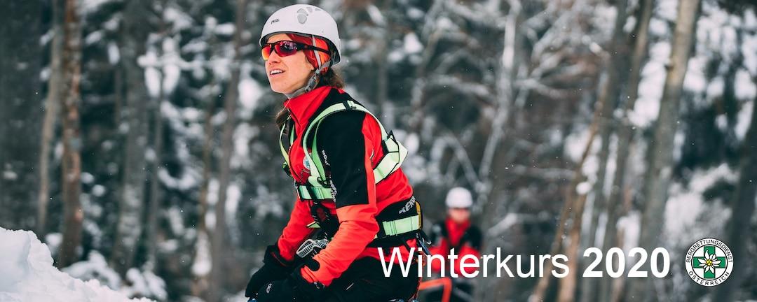 Winterkurs: 35 neue BergretterInnen für NÖ/W