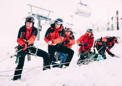 Winterkurs: 35 neue BergretterInnen für NÖ/W 6