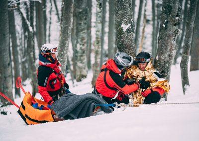 Winterkurs: 35 neue BergretterInnen für NÖ/W 1