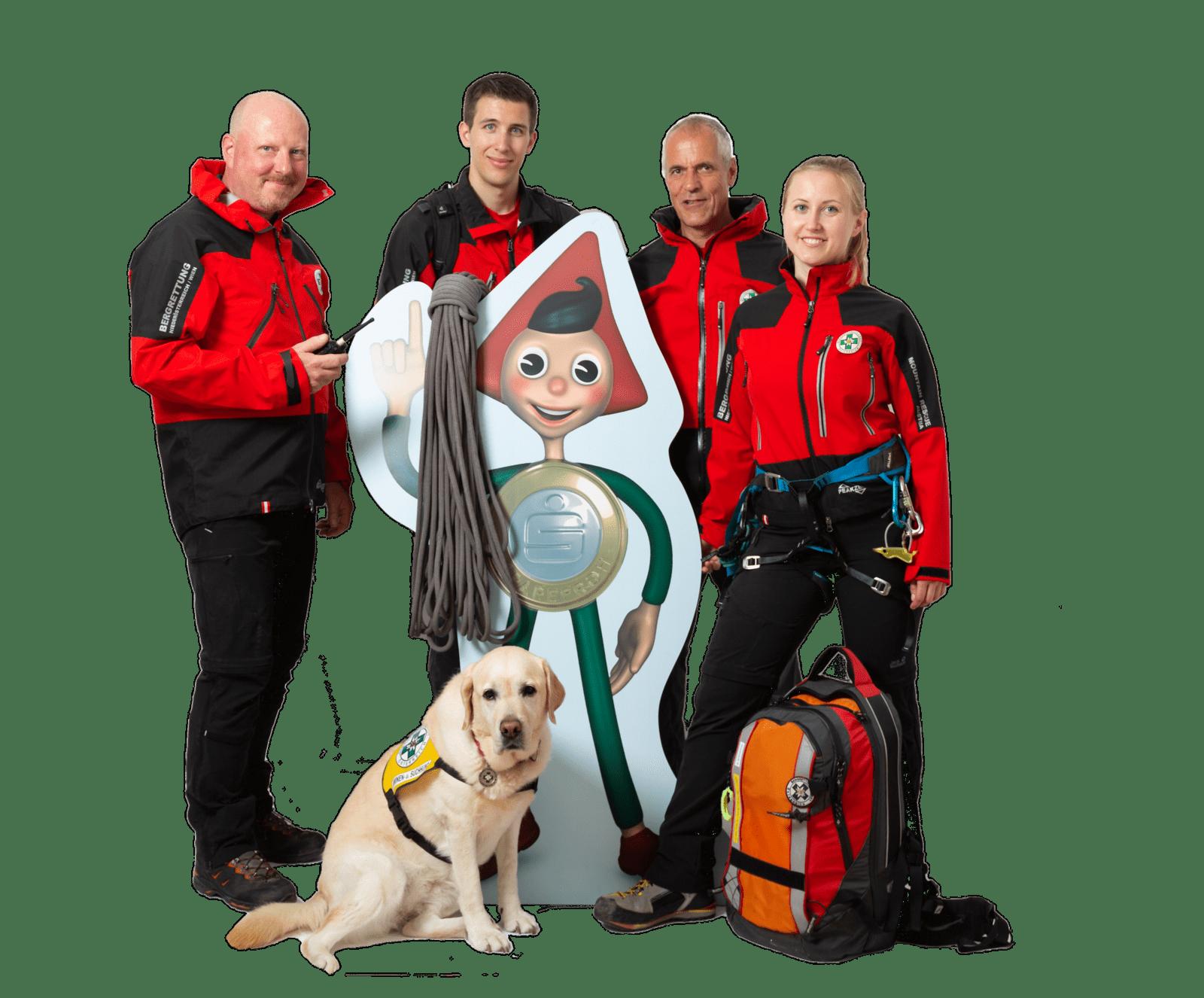 Sparkasse Neunkirchen unterstützt Bergrettung NÖ/W 1